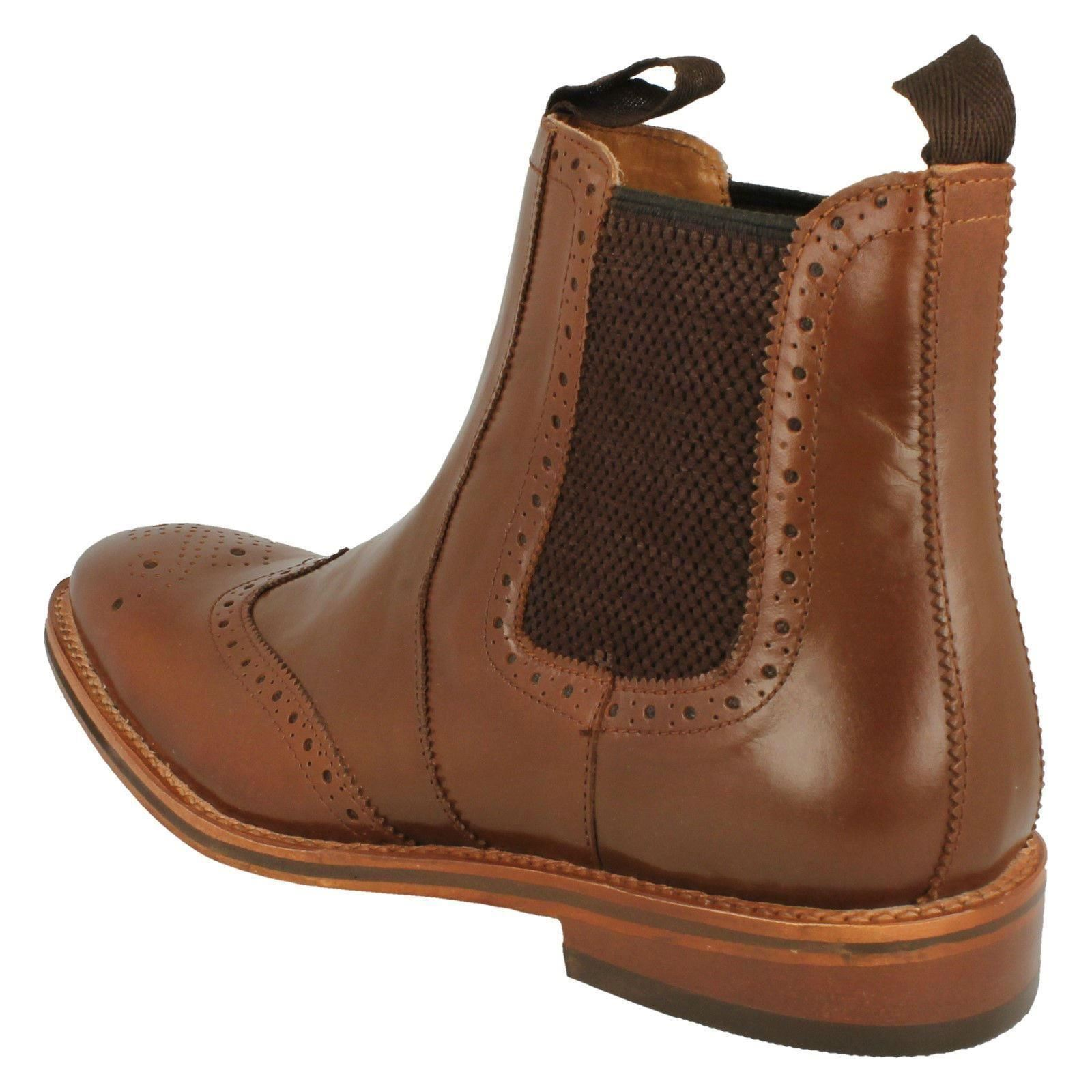 Uomo Catesby MCATESCW158 Pull On Brogue Ankle Boot MCATESCW158 Catesby  4375 85ba13