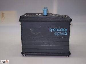 BRONCOLOR OPUS 2 GENERATOR Studioblitz Blitzgenerator Bron Swiss
