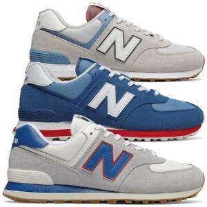 New-Balance-ML-574-ER-Herren-Sneaker-Leder-Schuhe-Turnschuhe-Sportschuhe