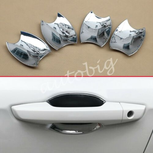Chrome Door Handle Molding For Honda CRV 2017 2018 Trims Protector Decoration