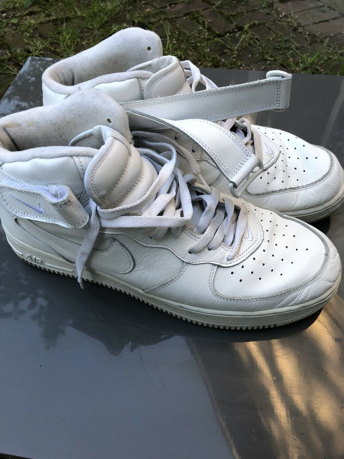 Air Force 1 Mid White/white Mens Size 14