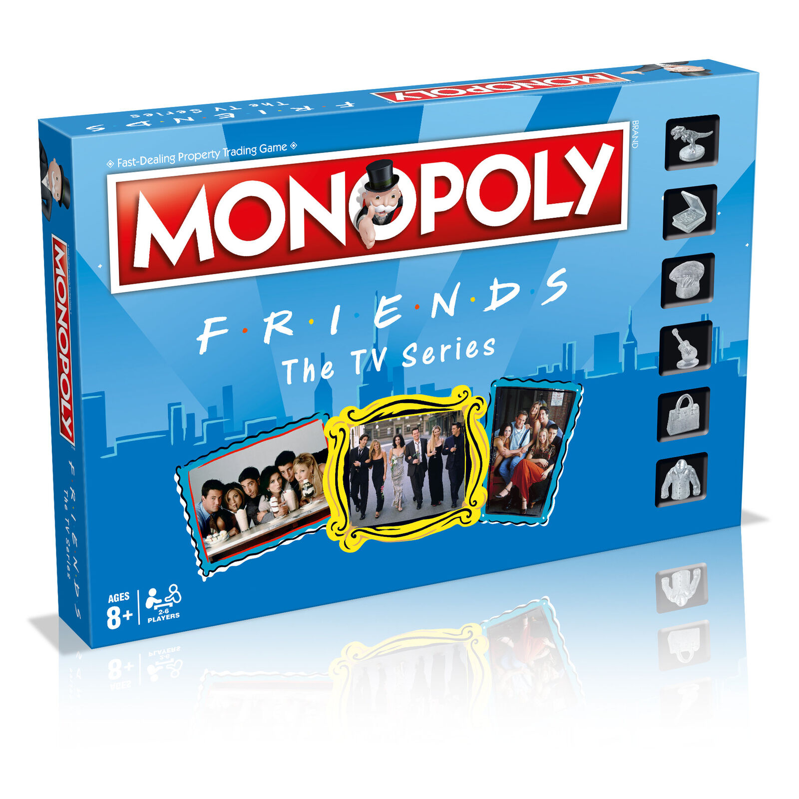 Monopoly Friends for R.I.E.N.D.S Game Party Game Board Game Englisch