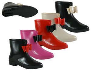 S433-Ladies-Wellies-Fashion-Jelly-Wellington-Ankle-Boots-UK-3-8