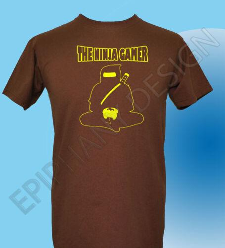 Gamer T-shirt Ninja Gamer T-Shirt Drôle Ninja T-shirt T-shirt Cadeau Idéal