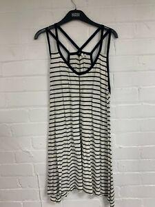Ex Fat Face Strap Vest Top Dress Size 16 (OR4.207)
