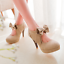 Women-High-Heels-Stilettos-Bowknot-Platform-Suede-Party-Cocktail-Sexy-Pumps-Shoe thumbnail 9