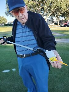 Tee Helper Golf Ball Teeing Device- take the strain off your back! Free Shipping