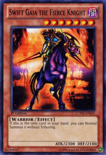 LCYW-EN031 EX 3x Swift Gaia the Fierce Knight Common Unlimited Edition