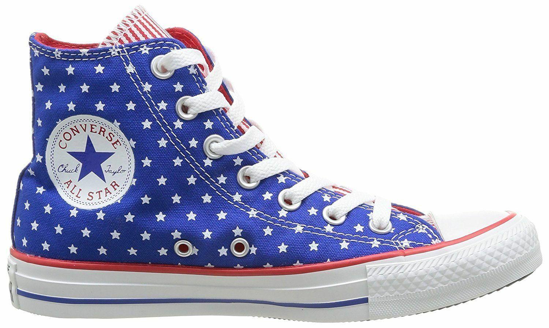 Nouveau CONVERSE Chuck Taylor All Star Hi Top Top Top Bottes Stars Stripes USA drapeau UK 5 6 7 e140fa