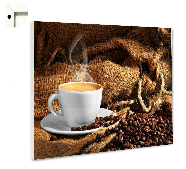 Magnettafel Pinnwand mit  Motiv Küche Essen & Trinken Kaffee & Bohnen