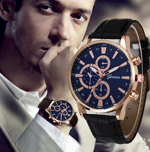 Geneva-Fashion-Watch-Mens-Analog-Leather-Band-Quartz-Sport-Casual-Wrist-Watches