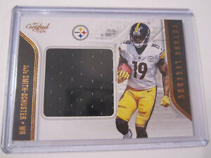 great fit 480bb a237f Details about 2017 Panini Certified Cuts Future Legends JuJu Smith-Schuster  Jersey Steelers 31
