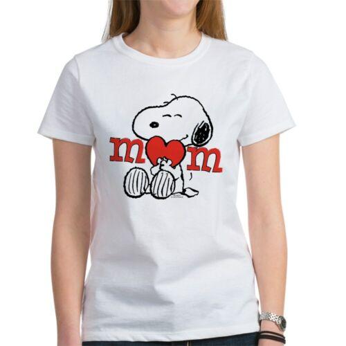 CafePress Snoopy Mom Hug T Shirt Women/'s T-Shirt 1546604903