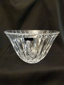 WATERFORD-Marquis-RAINFALLL-PATTERN-CRYSTALGlass-Germany-10-034-Centerpiece-Bowl