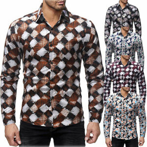 Men-039-s-Luxury-Casual-Formal-Shirt-Long-Sleeve-Slim-Fit-Business-Dress-Shirts-Tops