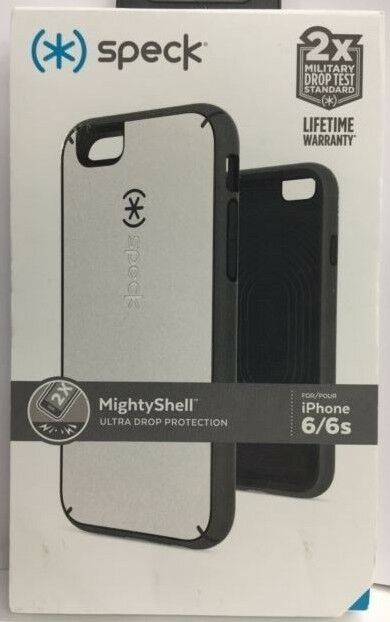 low priced ec48e 3d890 Speck MightyShell Case White/charcoal Grey for iPhone 6 / 6s -