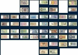 Pick-catalogue-120-00-Birmanie-lot-22-billets-neufs-1-XF-offert-1958-To-2004