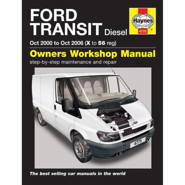 Haynes Manual  Ford Transit Oct Sel Ebay Rh Ebay Co Uk Ford Transit  Service Manual Ford Transit Connect  Manual