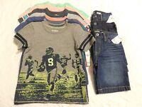Boys Clothes Size 4 4t Lot Oshkosh Shirts Shorts Summer Retail $236