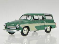 Wartburg 311 Camping grün Blister 1:43 Altaya Modellauto