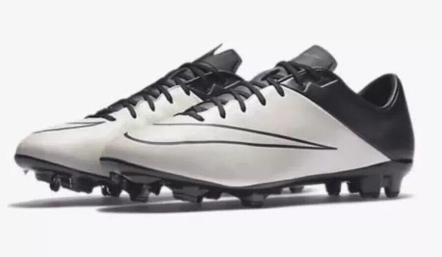 NEW NIKE MERCURIAL VELOCE II Leather FG Soccer Cleats 768808-001 Sz 11.5 Black
