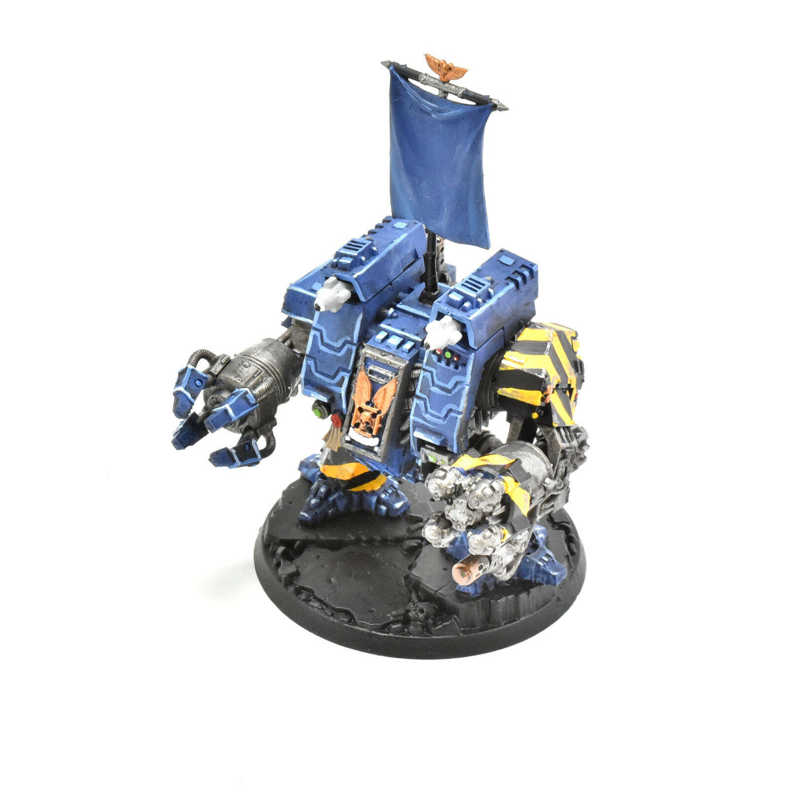 SPACE MARINES ironclad dreadnought WELL PAINTED Warhammer 40K