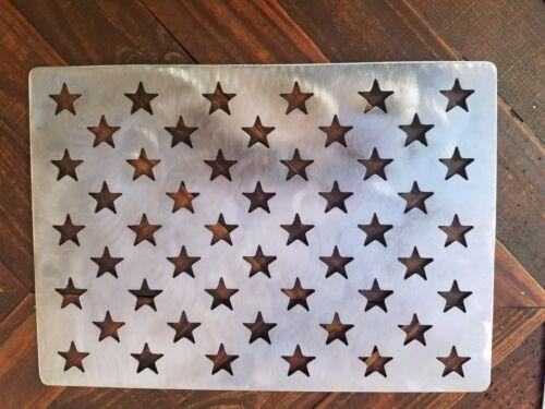 American flag stencil wooden flag star stencil steel 10.5 x 14.82 template cnc