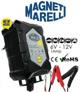 MANTENITORE-CARICA-BATTERIA-MAGNETI-MARELLI-CH1-6V-12V-1-AMP-MOTO-SCOOTER-AUTO