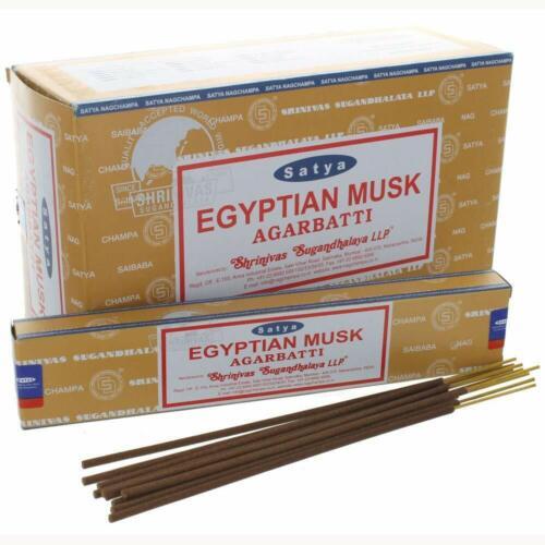 Satya Sai Baba Nag Champa Egyptian Musk Agarbatti Frangence Insence Sticks 180G