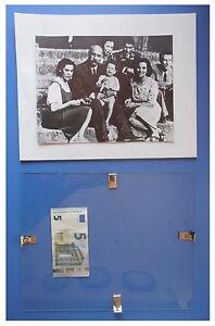 Cesare-Maria-De-Vecchi-famiglia-familiari-duce-fascismo-quadro-cornice-vetro