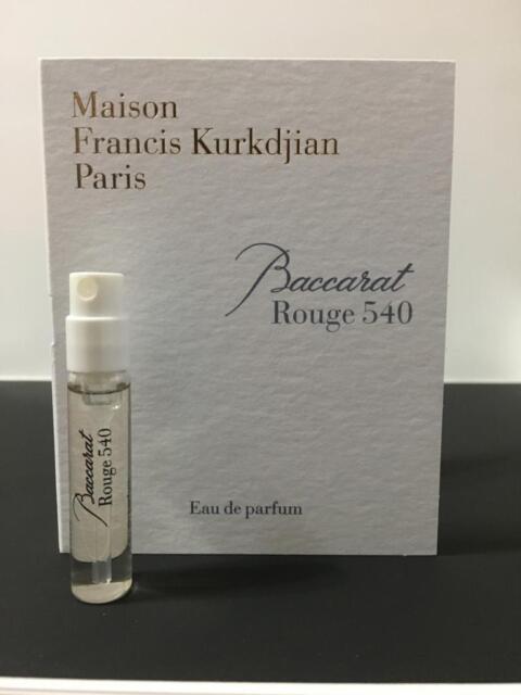Buy Maison Francis Kurkdjian Baccarat Rouge 540 Eau De Parfum Sample