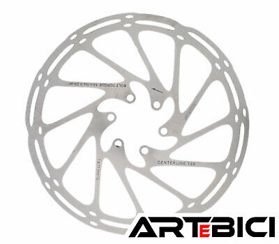 6-Bolts 140MM-203MM Optional New Sram Avid MTB CenterLine Rotors Center-Lock