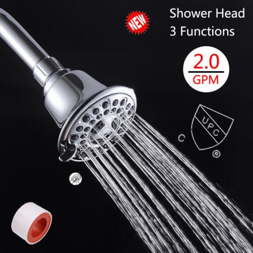 3/'/' Rain Shower Head Stainless Steel Material Top Sprayer Chrome High Pressure