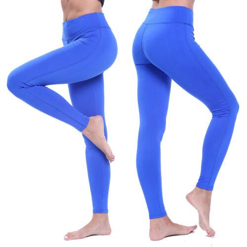 Women Hip Push Up Yoga Pants Stretch Tight Leggings Sports Butt Lift Trousers M8