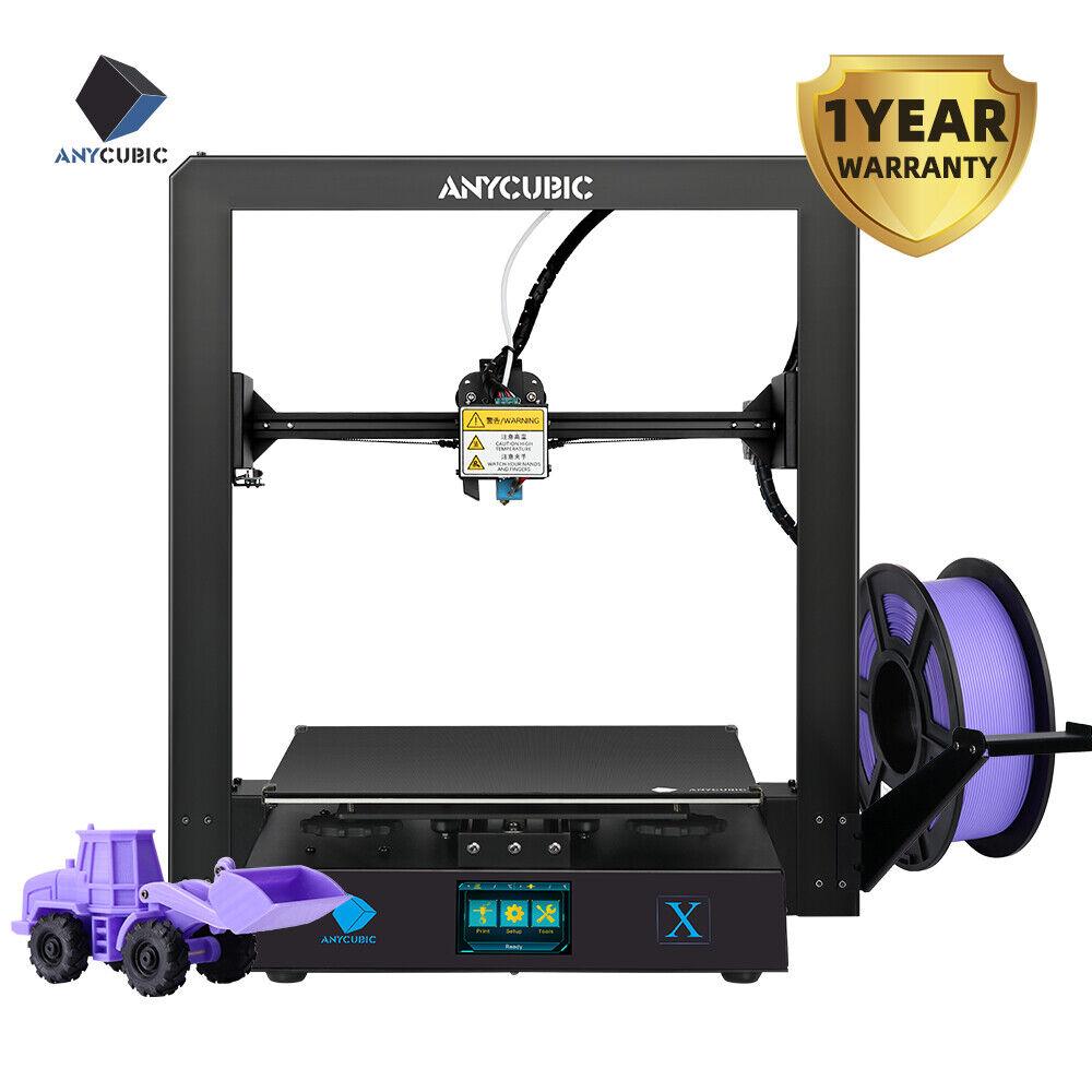 US Anycubic Upgraded Mega X 3D Printer Big Build Volume Full Metal DIY 1KG PLA Anycubic big build DIY full mega metal printer upgraded volume