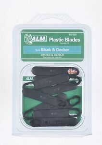 10-Plastique-Lame-Black-amp-Decker-Tondeuse-a-gazon-GR120-GR120C-GX295-GX295C