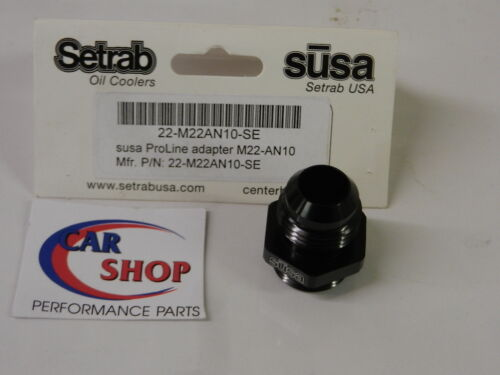 SETRAB OIL COOLERS 22-M22AN10-SE M22-10AN ADAPTER FITTING