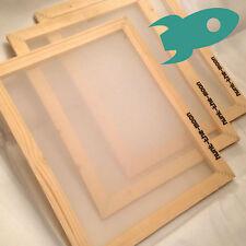Aluminium Silk Screen 43T mesh by Handprinted A3