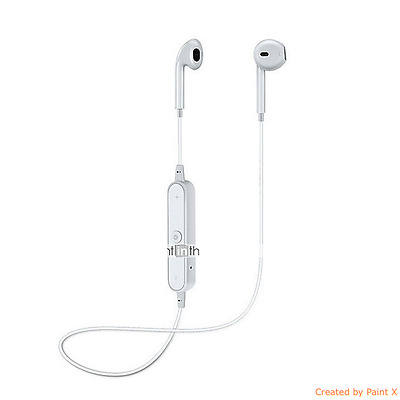 Y6 Sports Bluetooth Headset Wireless White Earphone with Mic