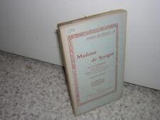 1910.biographie Madame de Sévigné / Lecigne