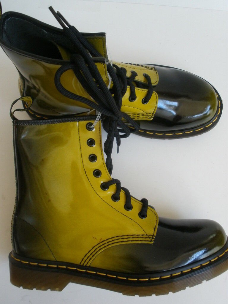 DR.MARTENS LEATHER BOOTS US 7 EUR 38 Uomo 7 NEW  99