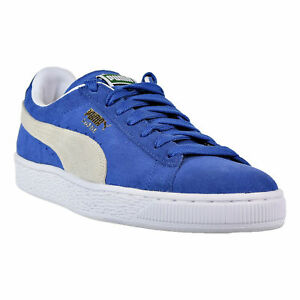 c109d590a67 Puma Men s Suede Classic+ Men s Shoes Olympian Blue White 352634-64 ...