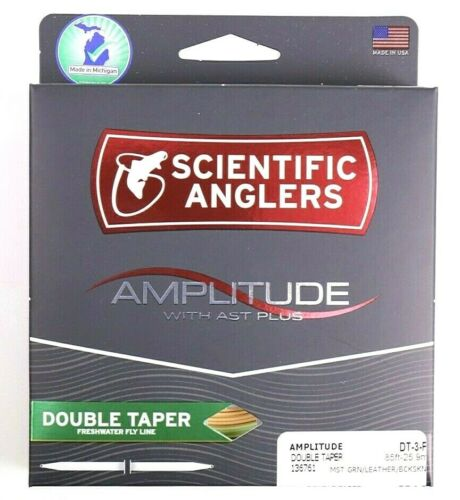 ALL SIZES Scientific Anglers Amplitude Double Taper FREE FAST SHIPPING