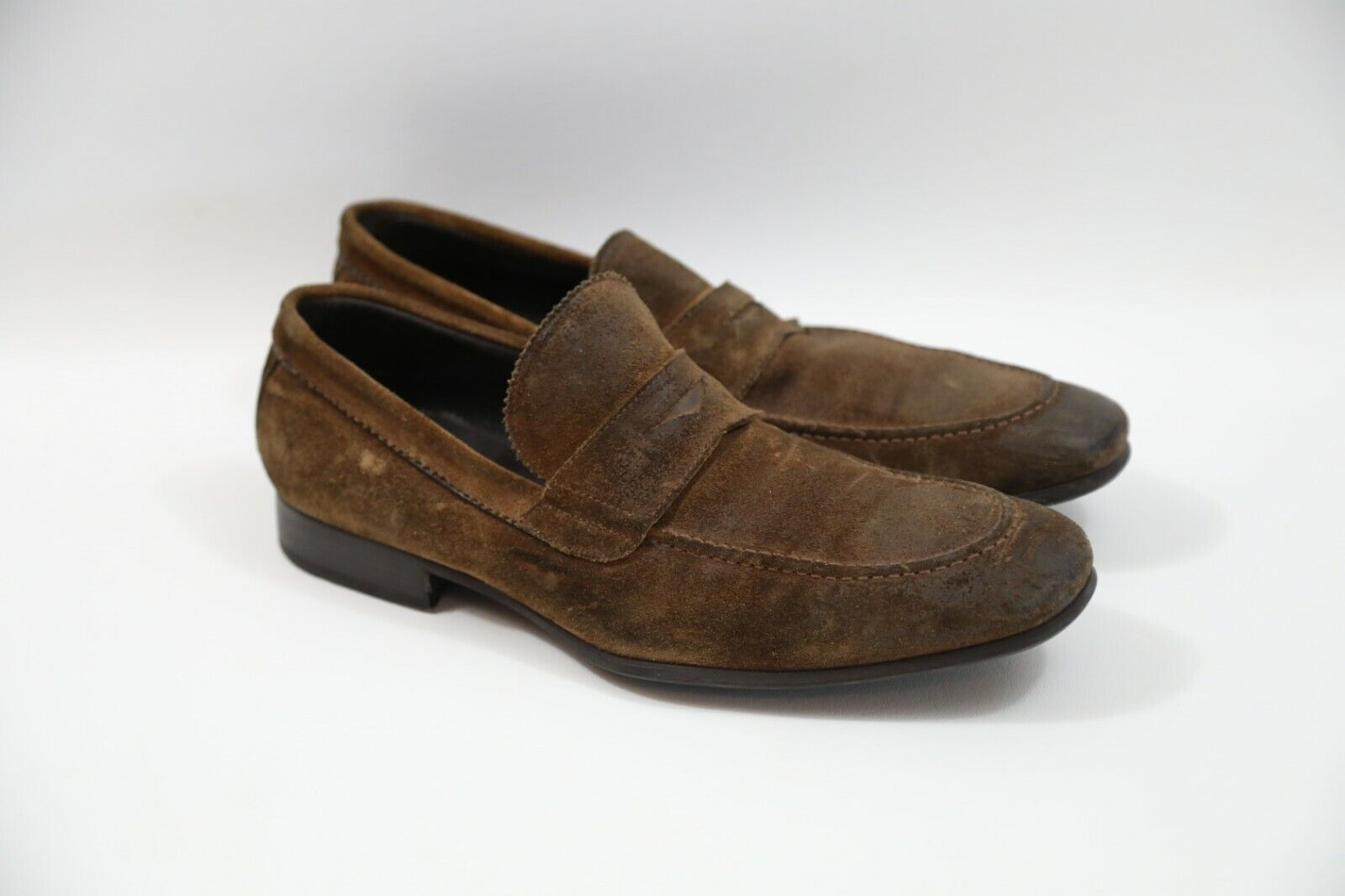 264 To Boot New York  Suede Loafers Size 10