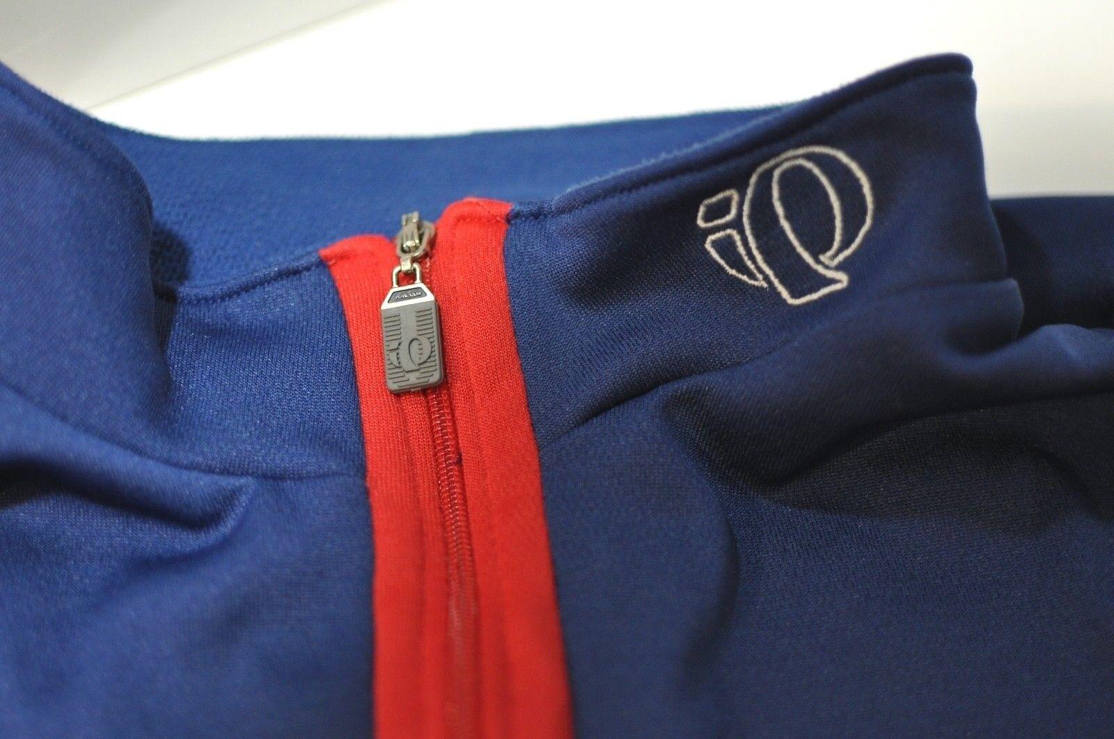Pearl Izumi 1 4 zip  cycling long sleeve shirt jersey XL  leisure