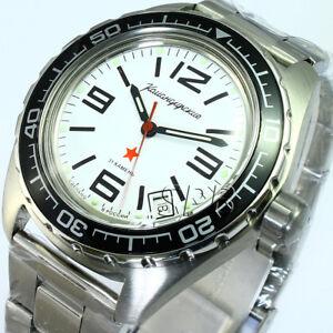 f6848370070b Russian men s wrist watches Vostok komandirskie mechanical automatic ...