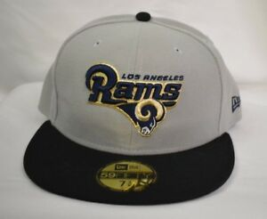 ef017409da5 New Era 59Fifty Mens NFL Los Angeles Rams Fitted Hat Cap NWT Pick ...