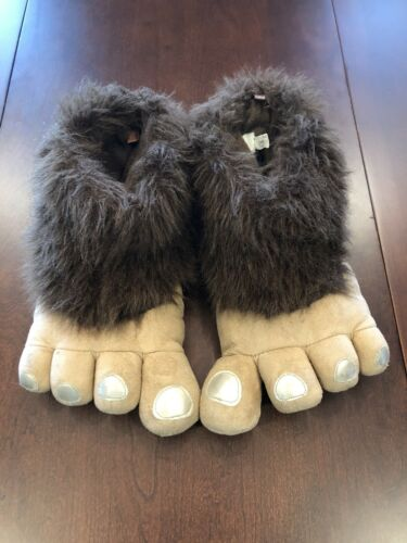sasquatch bigfoot slippers