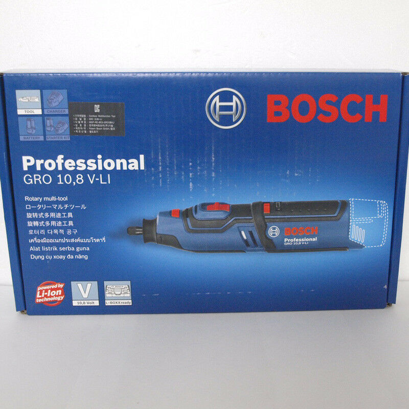 Original BOSCH GRO 10.8 V-LI Professional Rotary multi tool - Only Body
