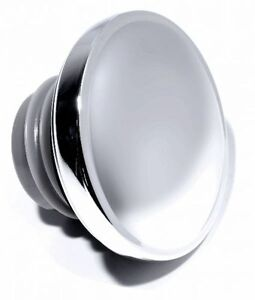 Petrol-Cap-Chrome-Vented-For-Harley-Sportster-Fat-Boy-Motorcycle